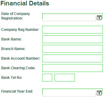Bank Name, Branch And Account Numbers Are Required To Load The Automatic Debit  Order (APO).